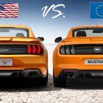Unterschiede und Vorteile des US Mustang vs. EU Mustang