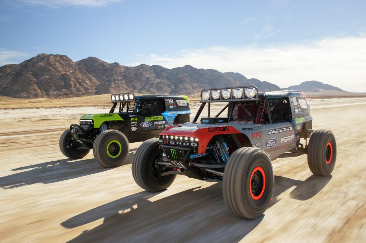 Bronco 4400 series race trucks
